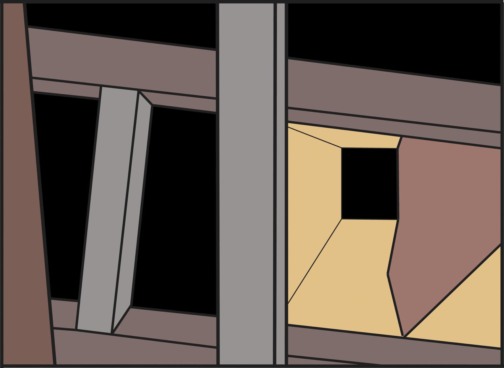 Studie 598 Perspectief in Kleur